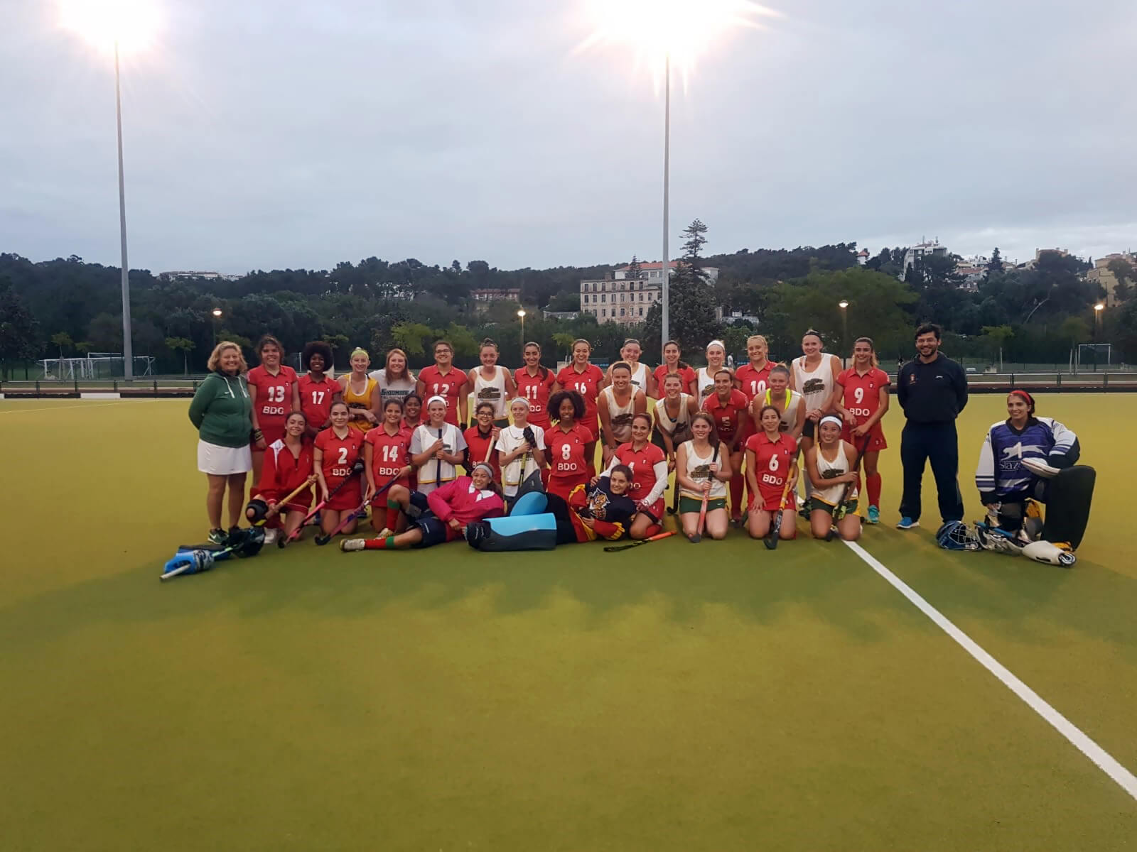 Field Hockey Tour Portugal Spain Italy 4