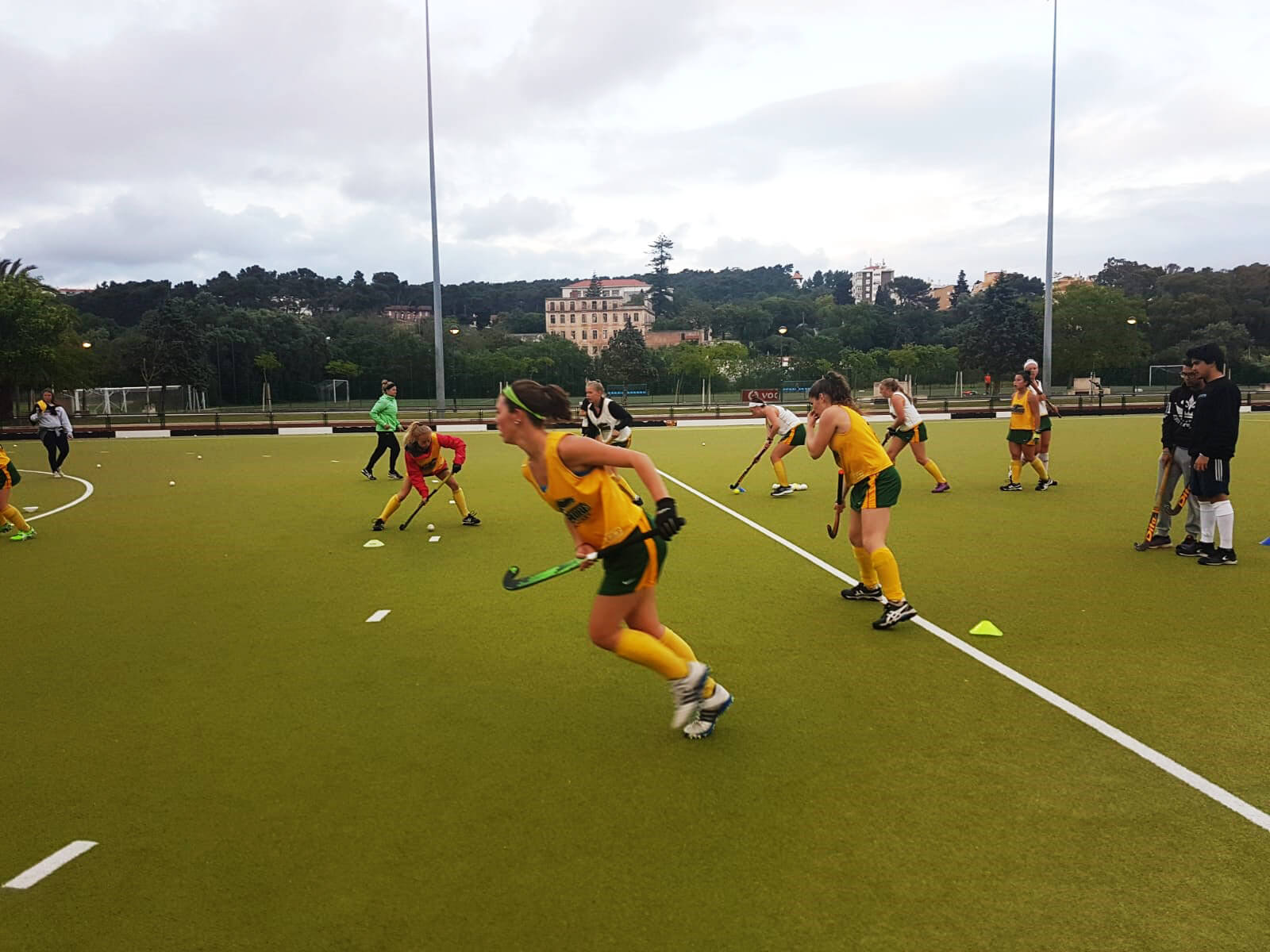 Field Hockey Camps Spain