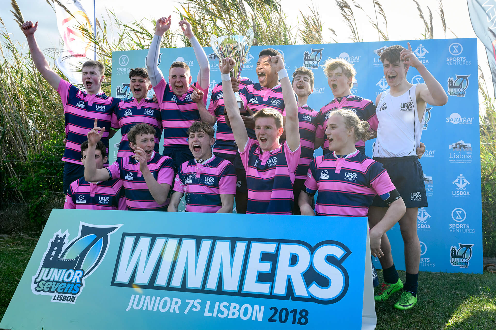 Lisbon Junior Sevens Winners