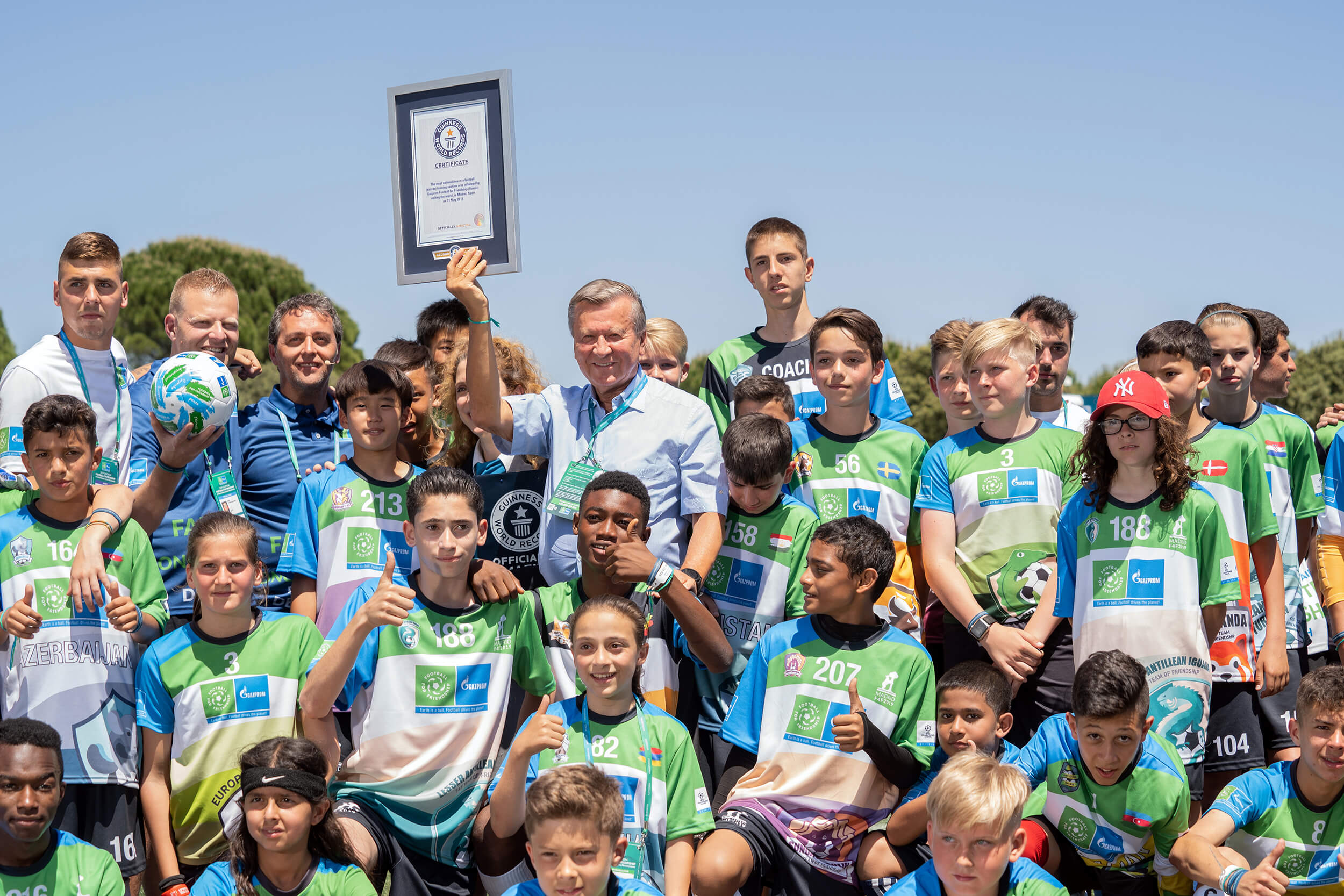 gazprom-football-for-friendship-event-sports-ventures-GUINNESS-WORLD