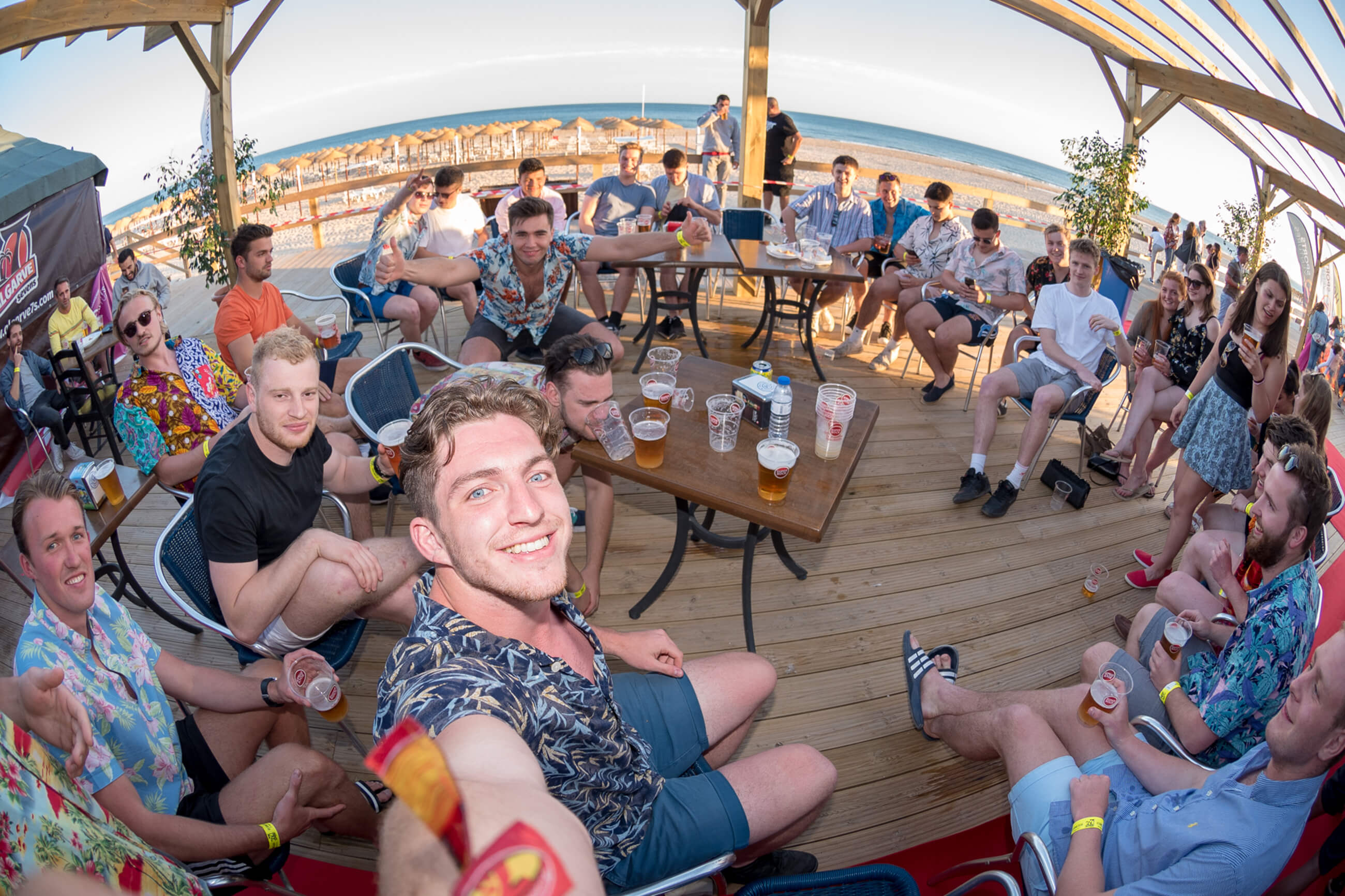 Algarve Sevens Welcome Beach Party