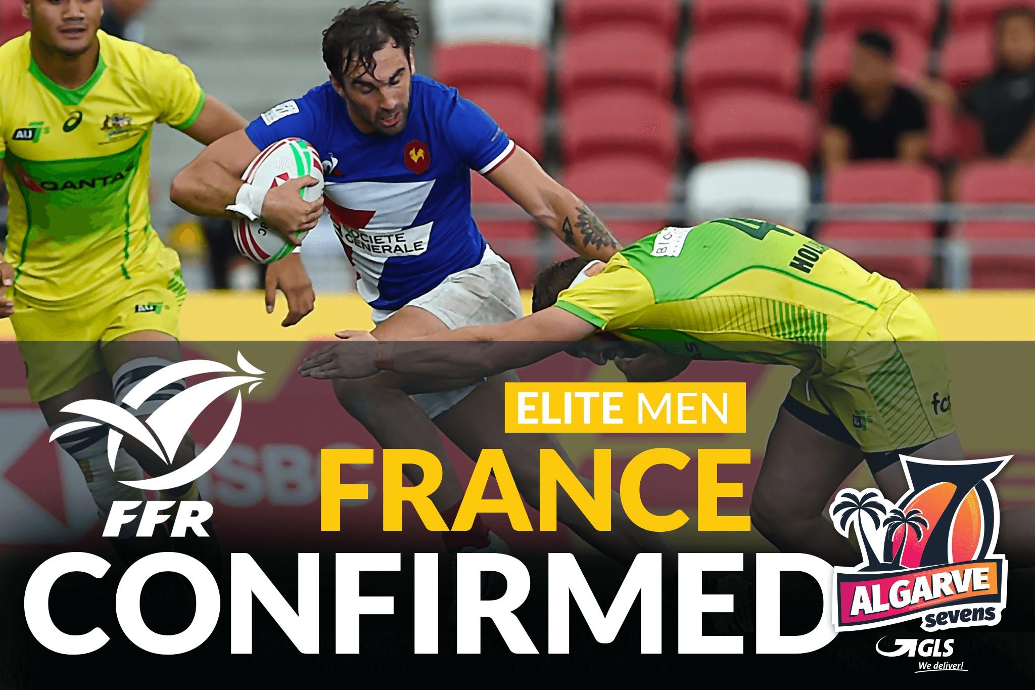 France Sevens to attend the GLS Algarve 2019 Elite Competition